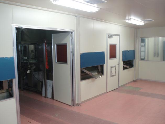 食品製造業向け検品室