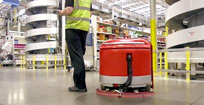 自動床洗浄ロボット
