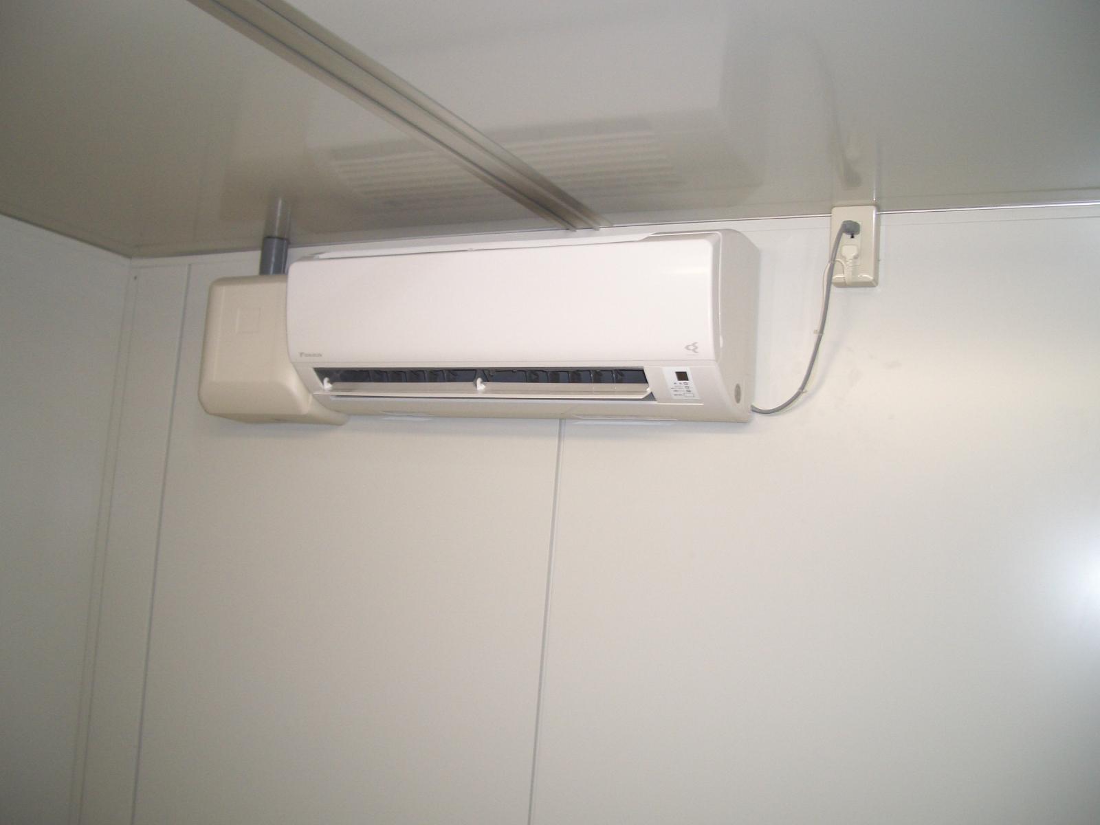 空調機設置工事