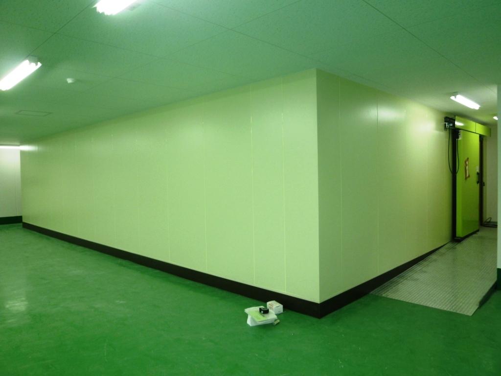 冷凍倉庫設置工事