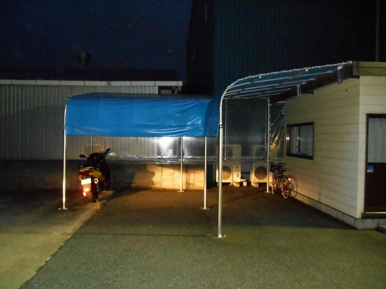 簡易式駐輪場