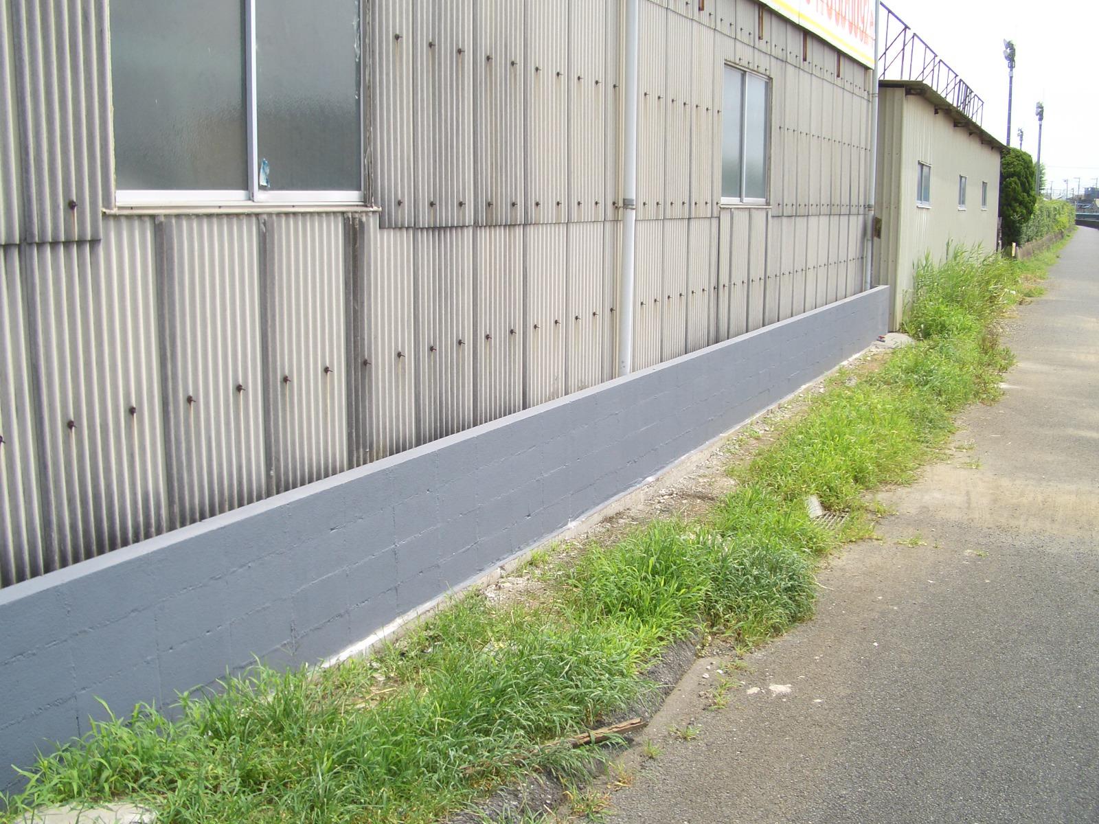 防水壁設置工事