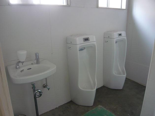 トイレ設置工事施工後