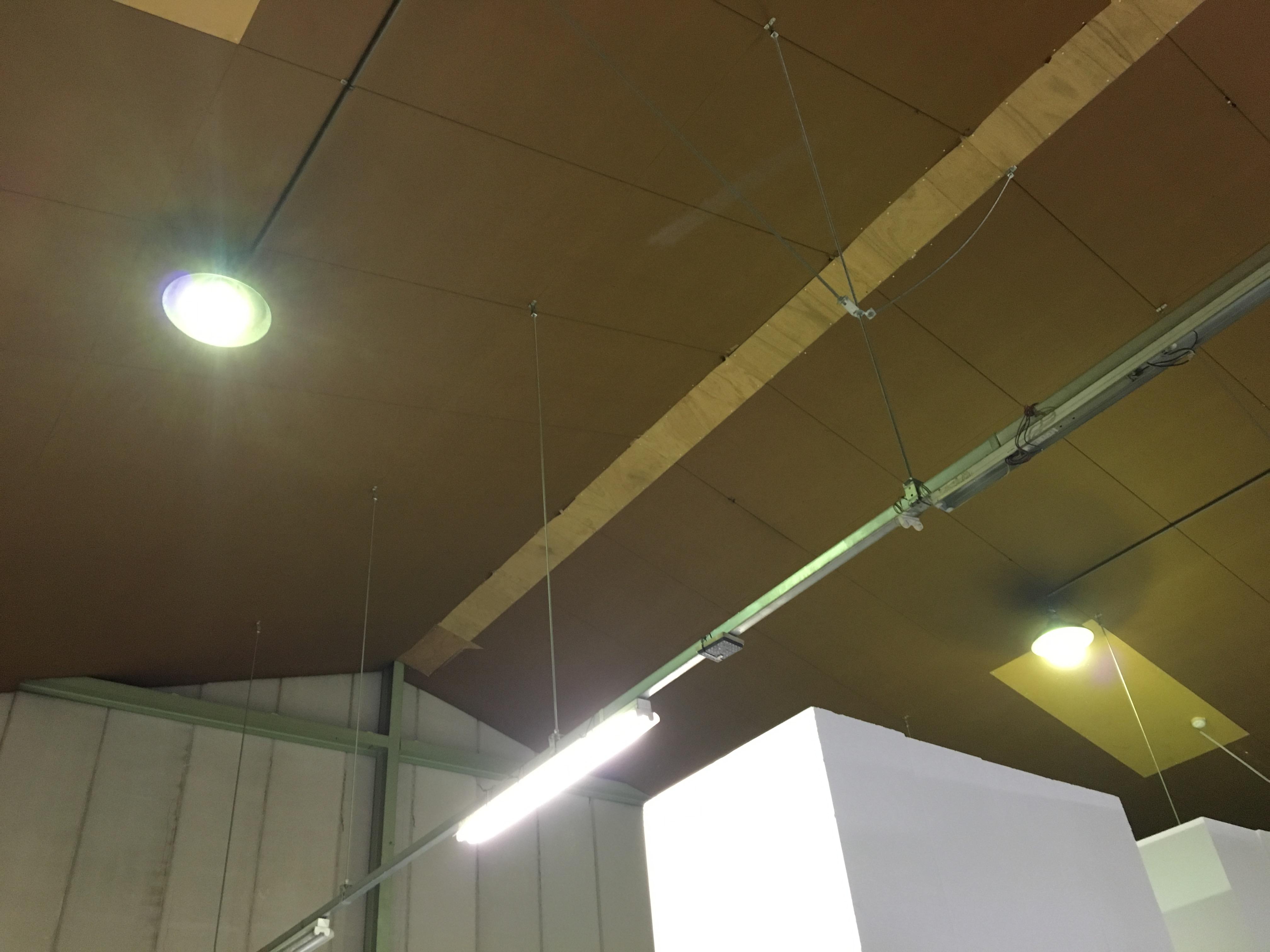 蛍光灯設置工事