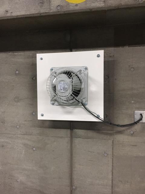 有圧換気扇取り替え工事