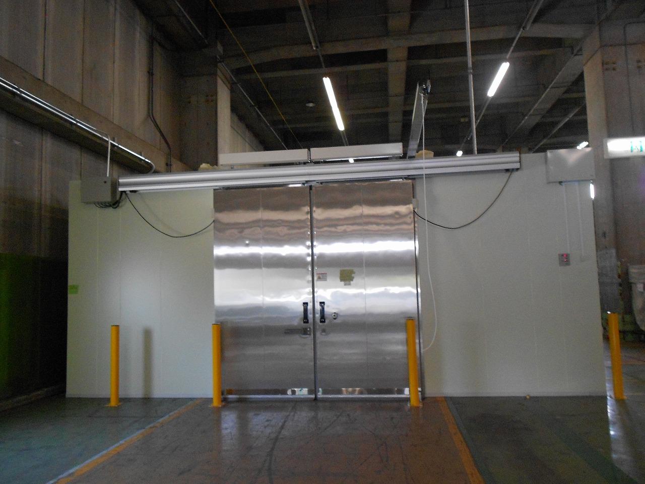 冷凍庫設置工事