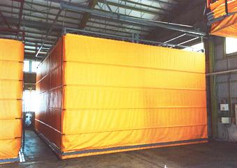 昇降式テント
